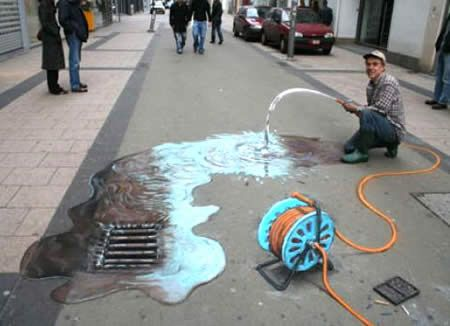 The Best 3D Street Art (Photo Gallery, Video)