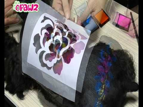 OPAWZ Tattoo Stencil Application Instructions- Airbrush tattoos for people and pets