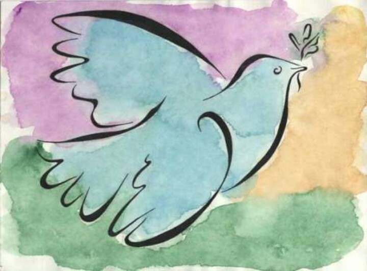 отзыв картинка голубь мира пабло пикассо картинка дереве