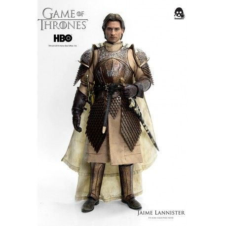 Preorder this Threezero figure now. flexible payment options and FREE EU shipping. This Jamie Lannister figure stands at 30cm and is 1/6 scale fully posable
