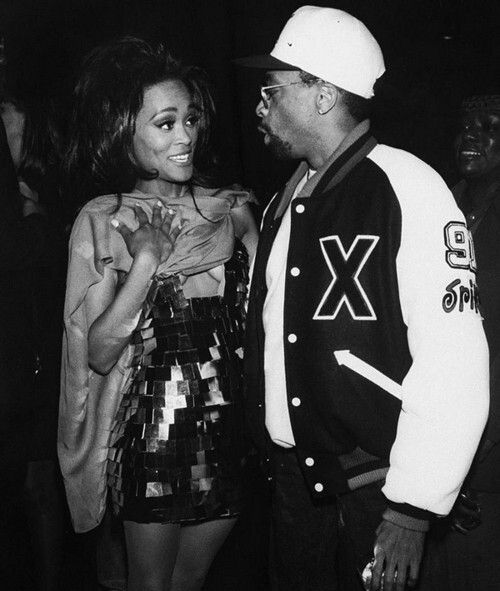 Robin Givens and Spike Lee