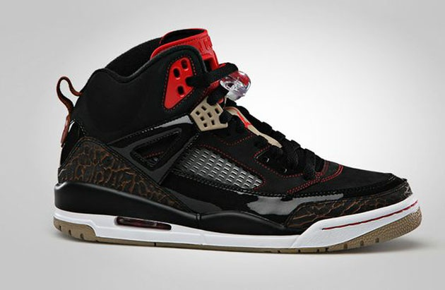 Air Jordan Spiz ike - Black   Challenge Red  7a167b526