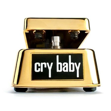 Jim Dunlop 50th Anniversary Gold Plated Cry Baby The Jim Dunlop 50th Anniversary Gold Plated Cry Baby celebrates the 50 year anniversary of the original release of the Cry Baby Wah in 1967. This limited edition Cry Baby is 24-carat gold plated and c http://www.MightGet.com/march-2017-1/jim-dunlop-50th-anniversary-gold-plated-cry-baby.asp