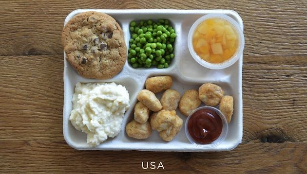 What's French for Chicken Nugget? The Truth About School Lunches Around the World | Mother Jones