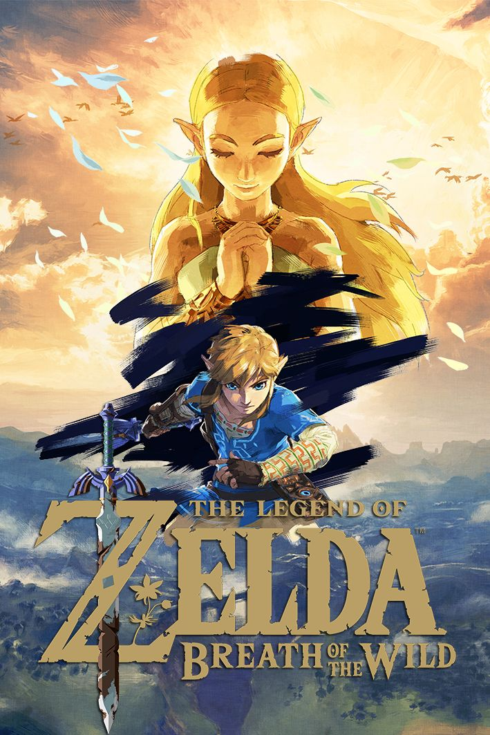 The Legend of Zelda : Breath of the Wild - Gold Logo | #BotW #NintendoSwitch #WiiU