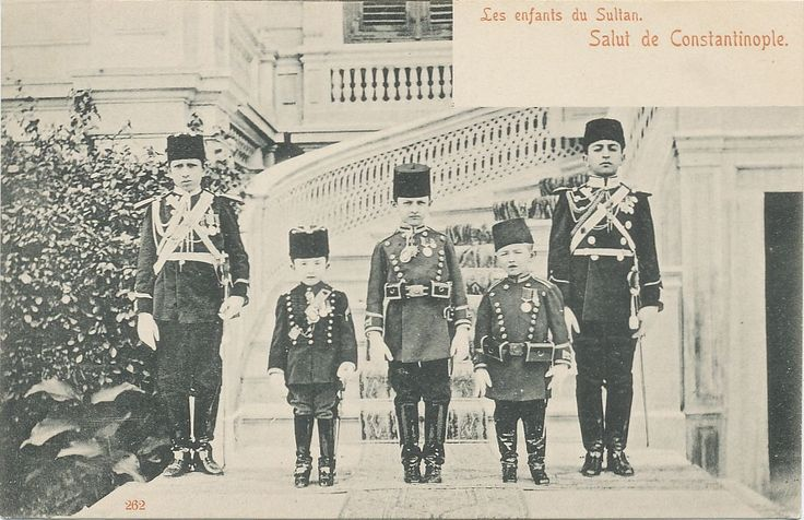 """Children of the Ottoman Sultan. Max Fruchtermann, 1852-1918. The most prominent early publisher of Ottoman postcards from the eastern border of Austria-Hungary he came to the central part of the Ottoman Empire in the 1860s, at the age of seventeen he opened a frame-shop at Yüksekkaldirim Istanbul. It is hard to underestimate his role in the publishing scene that followed. He was one of the first """"editeurs"""" (if not the very first) to create postcards depicting the Ottoman Empire."""