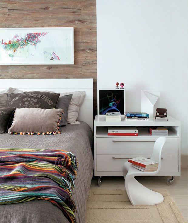 Charme na lateral da cama veja mais http www for Decor 77