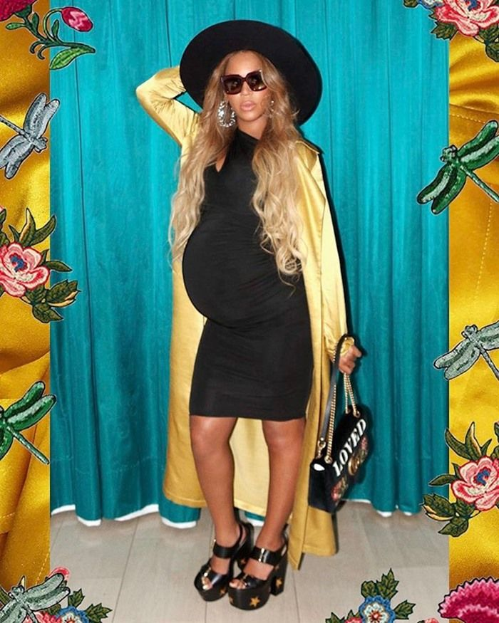 Image result for Beyonce Releases Teaser Foot Ahead Of Birth Of Twins
