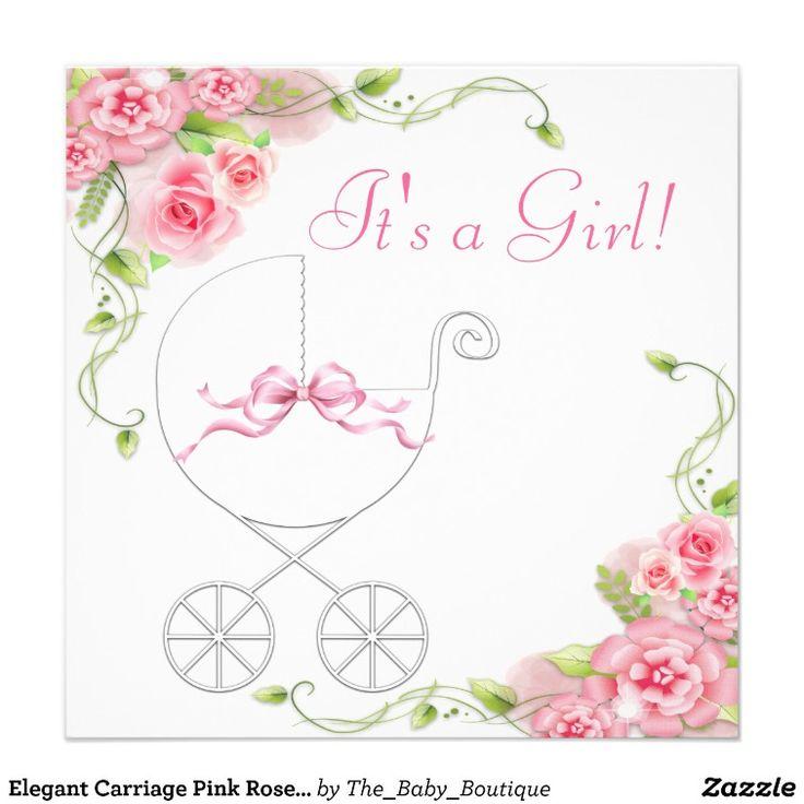 39 best Baby girl shower invitation images on Pinterest | Shower ...
