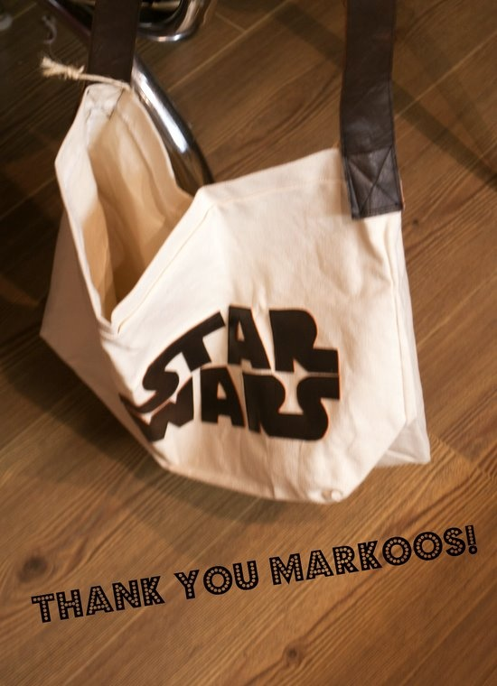 Tote bag from Markoos Modern Design