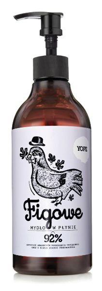 YOPE Mydło w płynie Figa 500 ml | DOMOWE SPA \ Kosmetyki naturalne DOMOWE SPA \ KOSMETYKI NATURALNE | Minti Shop