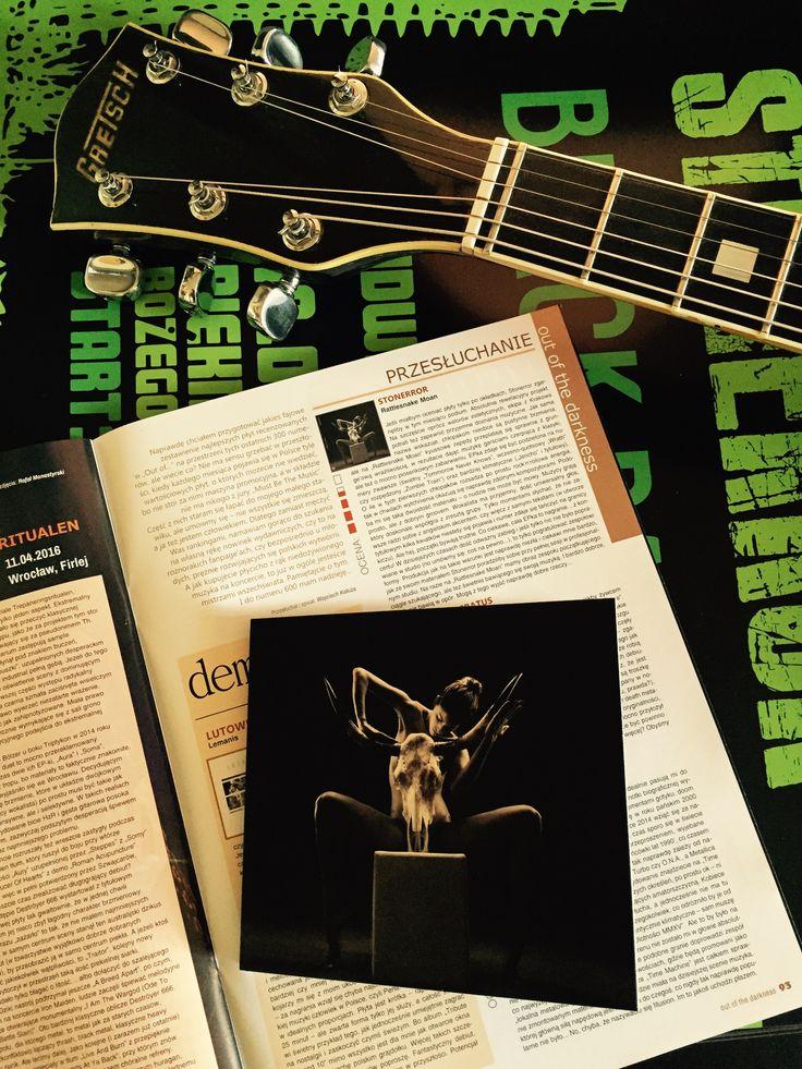 Recenzja EP'ki Rattlesnake Moan w najnowszym, jubileuszowym wydaniu Metal Hammera!