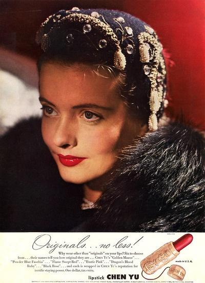 1944 Chen Yu - gorgeous lipstick caseVintage Lipsticks, Gorgeous Lipsticks, Lipsticks Cases, Pretty Lipsticks