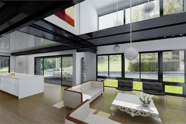 If this is prefab living, I'm in!  . Connect 8 Latest Green Energy Efficient Prefab Connect Homes Connect8.3Cubeme4