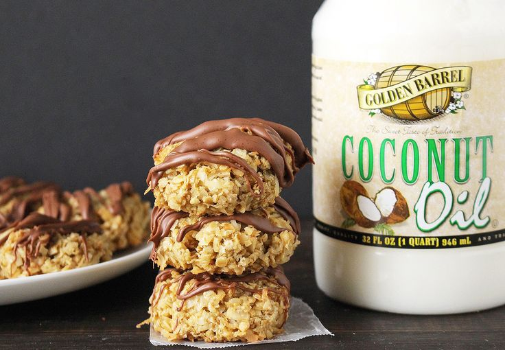 These Chocolate Coconut Lovers Cookies are easy to make, perfect balance of coconut and chocolate, and so delicious! Made with Golden Barrel Coconut Oil.