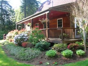85 Best Cabin Landscaping Images On Pinterest Backyard Ideas