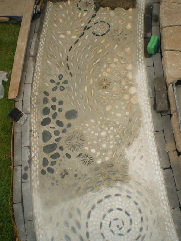 *Kieselsteinweg* in Beton...weiter gehts!! - Seite 2 - Deko & Kreatives - Mein schöner Garten online