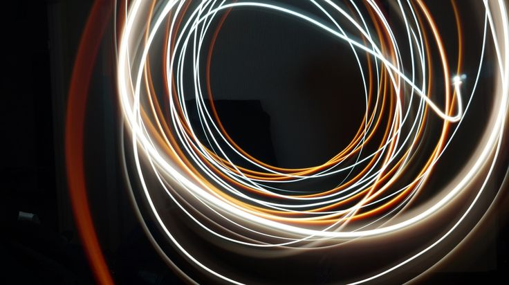 Exploring movement through light trails and photographic effects
