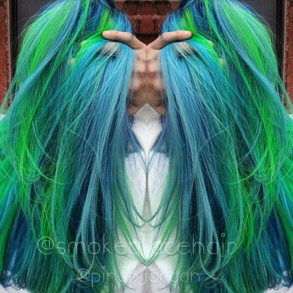 Hues That Girl: Hair Color Inspiration From the Rainbow - Color by Ali Boone and Jordan Glindmyer