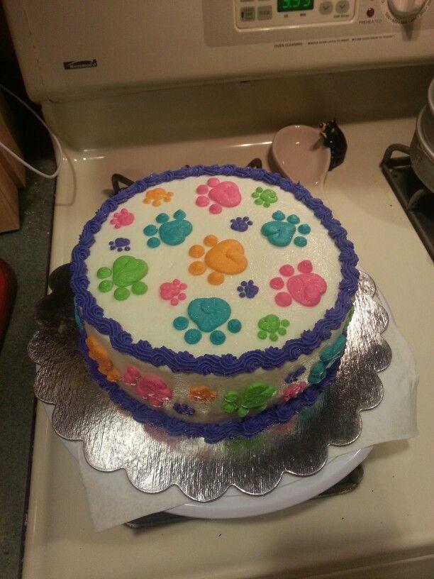 Puppy love cake