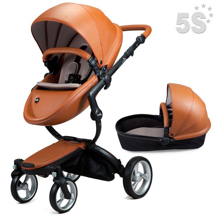 Mima Xari Kobi Baby Stroller Light Folding Stroller Stokke