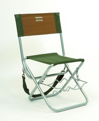 Folding chair with rods rest
