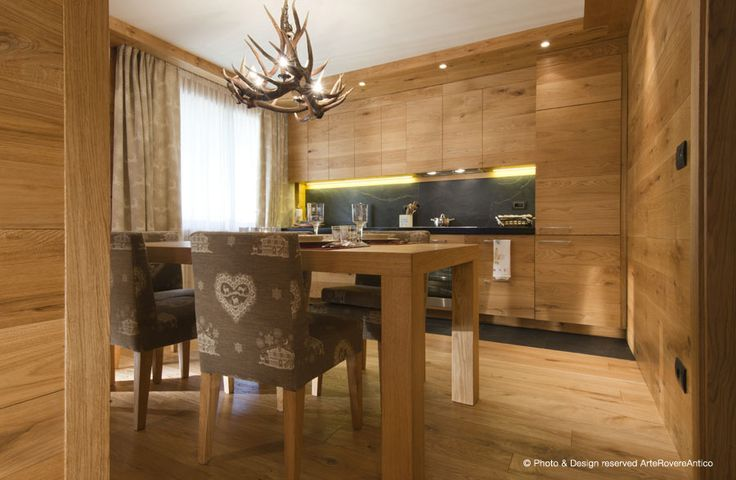 Arte Rovere Antico - Photo by Duilio Beltramone for Sgsm.it - Casa Ardesia - Limone Piemonte - Italy - Wood Interior Design - Mountain House