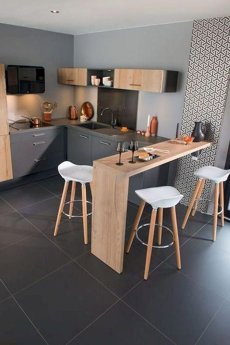 15 Stunning Small Kitchen Design Ideas  Idées de cuisine moderne