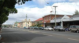 The 'top pub' Campbell Town,, Tasmania, now sadly an antiques store