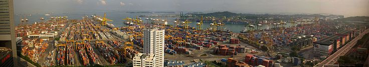 25% of Singapore's GPD is in exports. And it's port is the second busiest port in the world by tonnage.