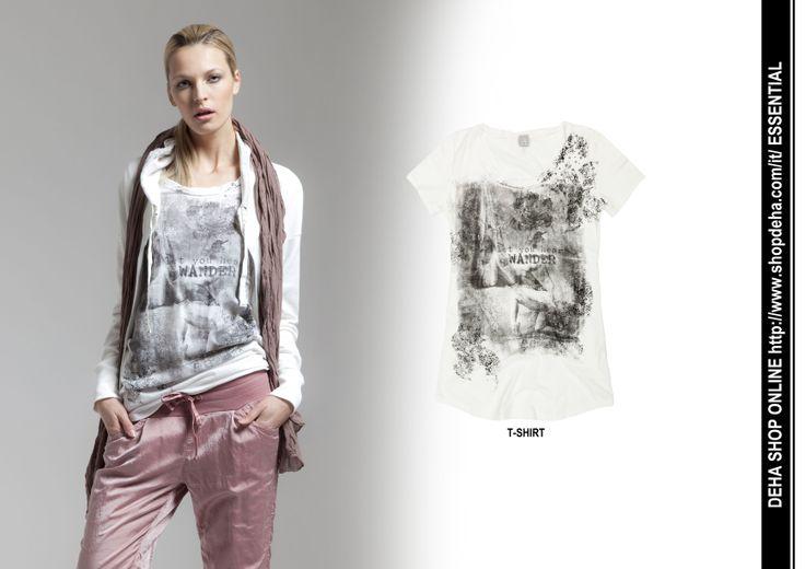 Per il vostro shopping online #DEHA #TSHIRT http://www.shopdeha.com/it/ http://www.shopdeha.com/it/essential/54-t-shirt-mc.html
