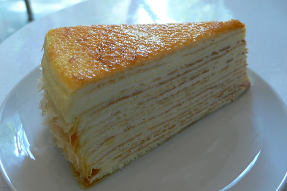 Lady M Mille Crepes Cake, UES, NYC