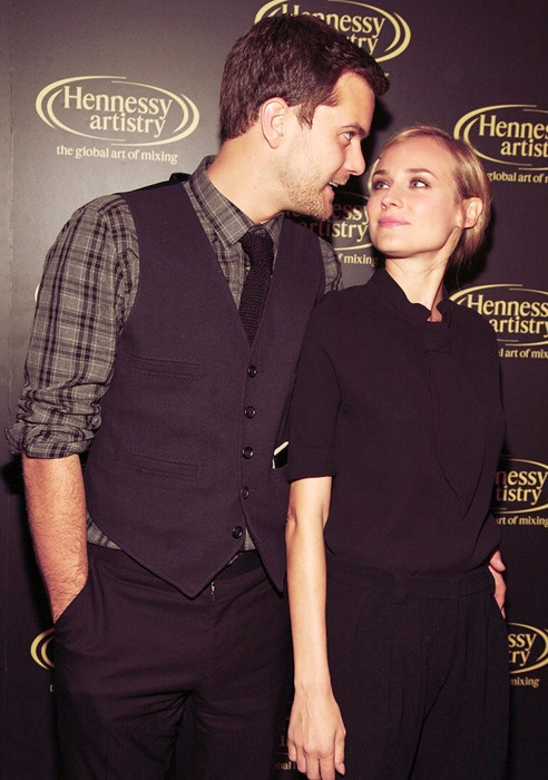Joshua Jackson and Diane Kruger- adorable!