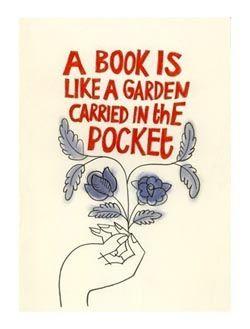 A Book is Like a Garden,