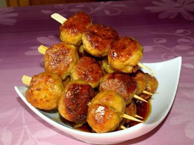 Chef Royale: Brochettes de poulet à la Japonaise