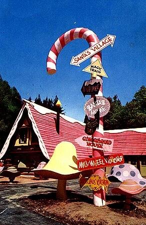 Santa's Village Lake Arrowhead, California. Out of business.
