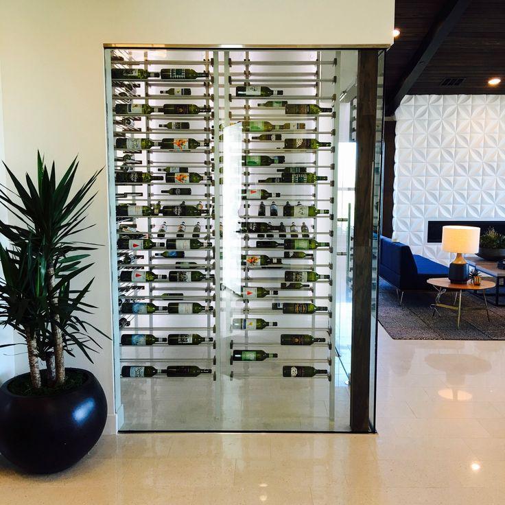 Lovely Modern Wine Room Home Design Ideas