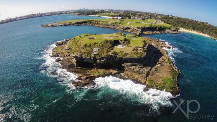 Botany Bay, the site of Captain Cook's first landing in 1770, remains a stunning landscape especially with Bare Island Fortress