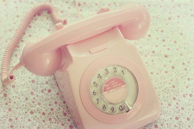 retro telephone. by beth retro, via Flickr