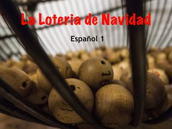 What is Christmas in Spain without el sorteo de la loteria? Get a jump start on your planning, and have some fun with your students with the power point, the game and the video...Start bringing in some Navidad fun!#goodnewstues