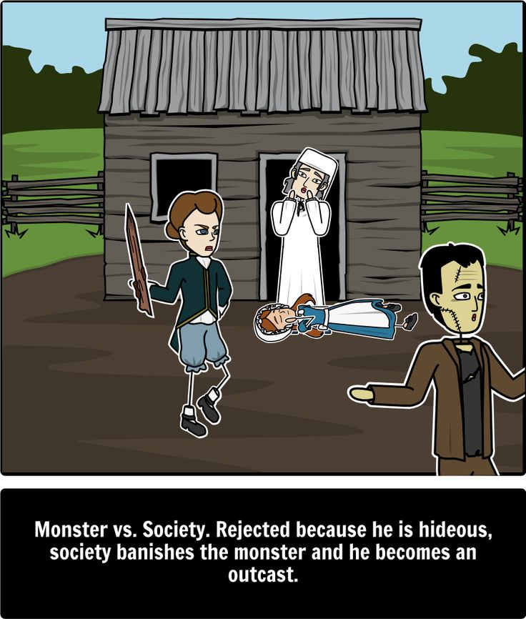 the relationship of mary shelleys frankenstein to society Frankenstein is full of the beauty of the natural world what does this have to do with the monster's ugliness is he ugly because he was created by man the monster believes it is his ugliness that keeps him alienated from society.