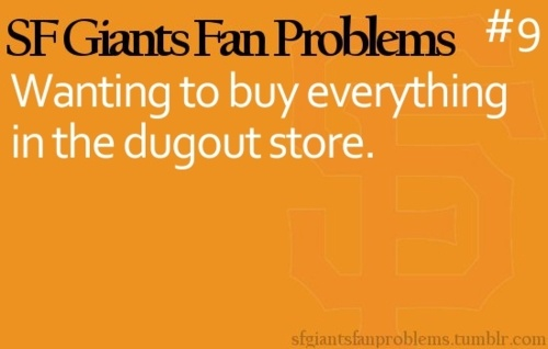 SF Giants Fan Problems