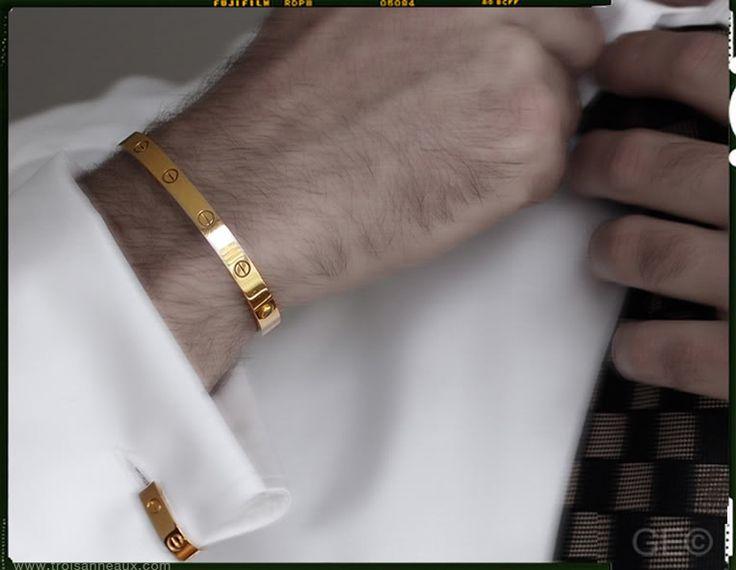 Ah yes  Cartier love bracelet  Bracelets Cool mens