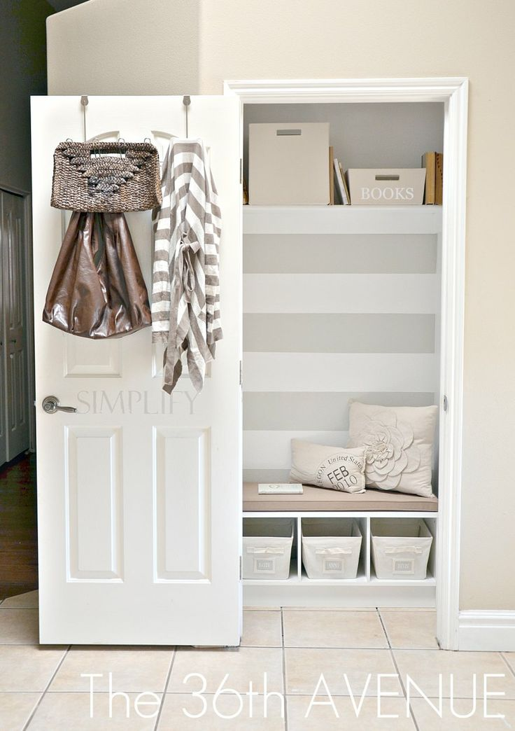 Love Stripes. Love The Transformation. I Want To Apply To Larger Guest  Bedroom Closet