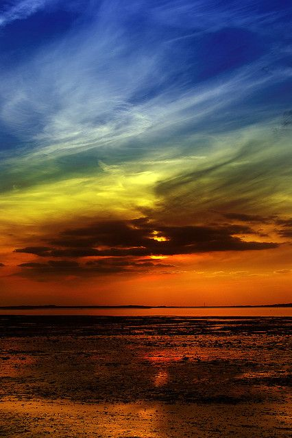Whitstable Beach, Kent, UK by Mike Franklin Photography, via Flickr