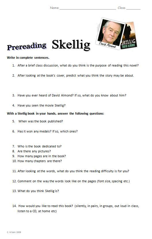 skellig essay questions Great ideas for essays, projects reports, and school reports on skellig by david almond part of a comprehensive study guide from bookragscom.