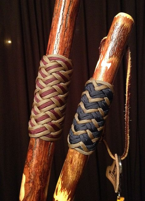 Hiking Stick Grips by Randy Cox, via Flickr