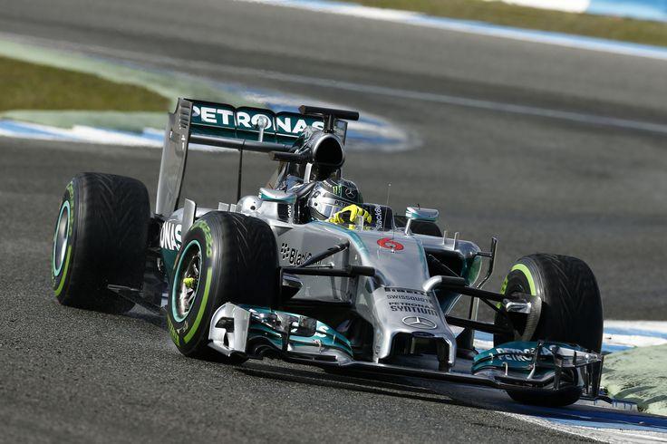 2014 Mercedes F1 W05 Hybrid (Nico Rosberg)