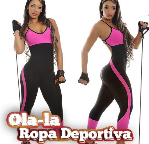 Enterizo deportivo clasico y sexy elaborado con telas de for Deportivas para gimnasio