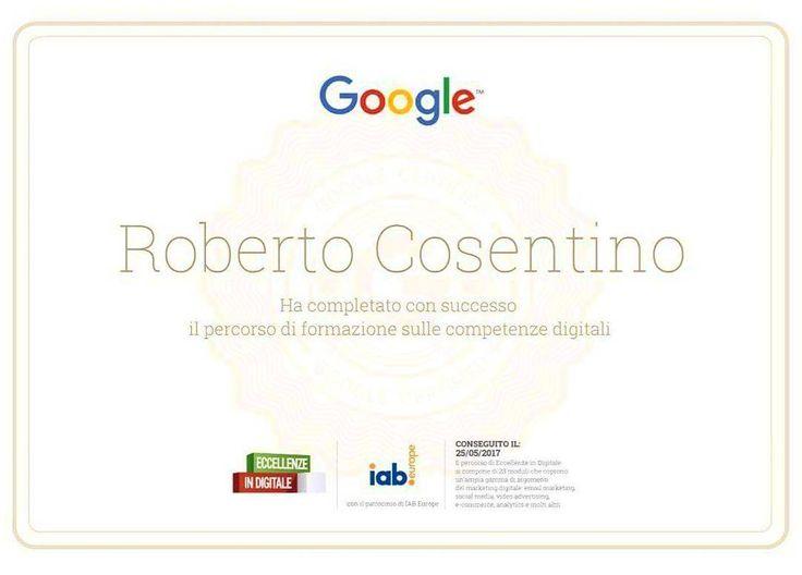 Ma sì prendiamoci un attestato in competenze digitali  #Google #ilovemyjob #webdesign #EccellenzeInDigitale #Milano #RCFoto #rcnetwork #webagency #webdesign #socialmedia #work #love #amazing #corso #attestato